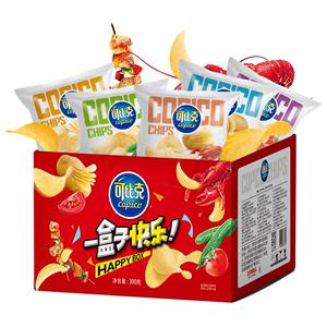 可比克纯切薯片30g*10包