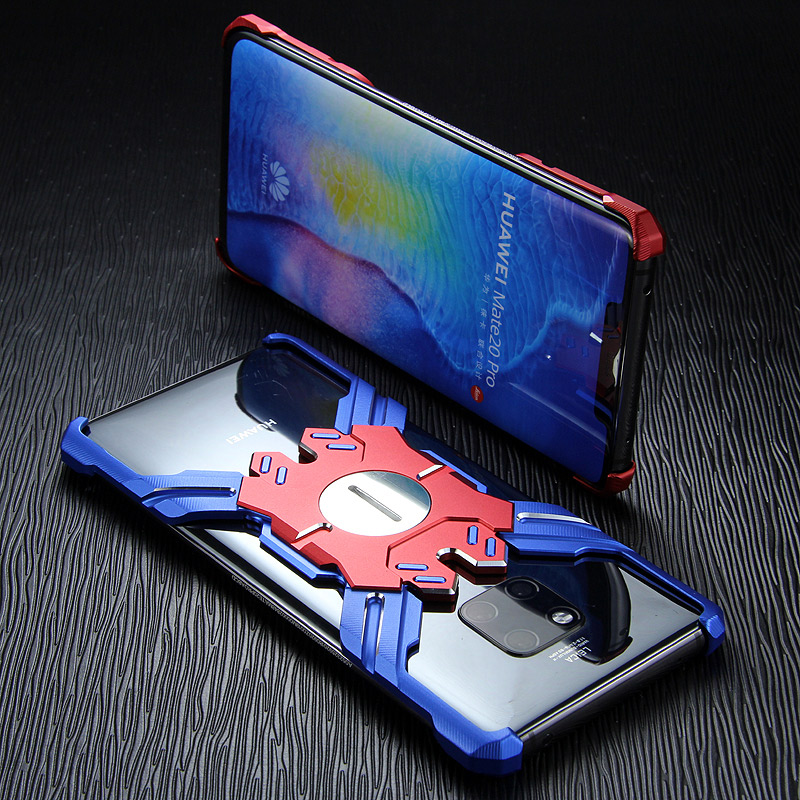 Kylin Armor Heroes Bracket Aluminum Metal Shell Case Cover for Huawei Mate 20 Pro & Huawei Mate 20