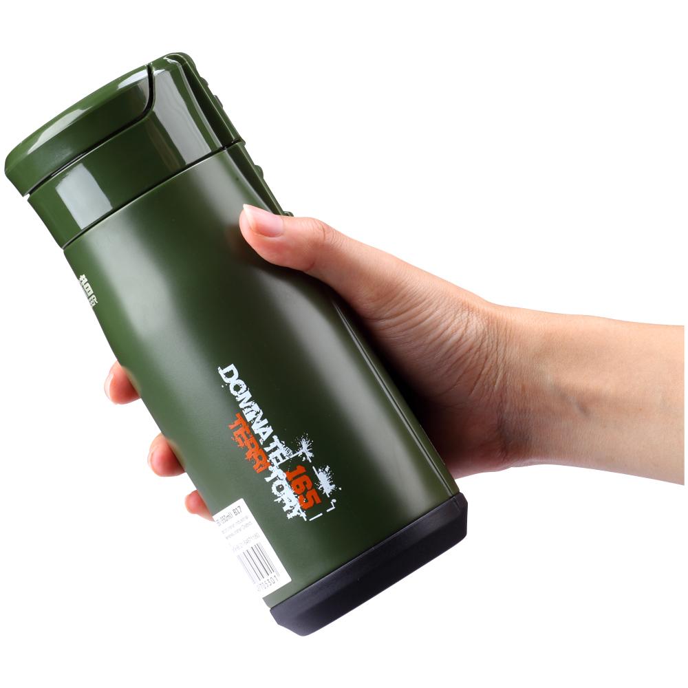 路饮者保温杯男女便携不锈钢车载儿童防震防漏户外水杯创意直身杯