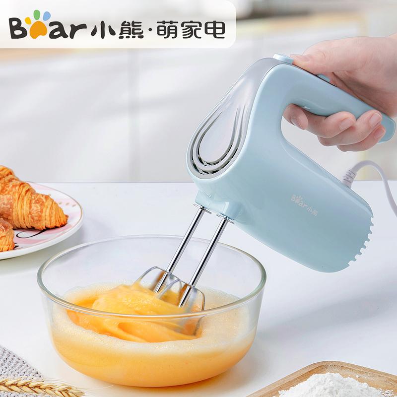 小熊打蛋器电动家用迷小型打蛋机奶油打发器机蛋糕搅拌器烘焙工具