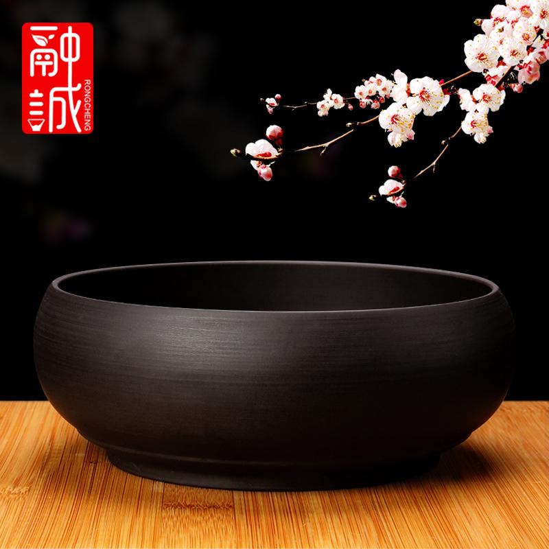 Большой фиолетовый чай мыть Кунг-фу чай набор аксессуары чай чашка мыть мыть чай миска бутылка воды ручка мойка черный пепельница