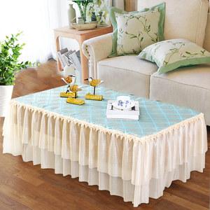 蕾丝茶几罩套客厅长方形茶几垫布艺盖布餐桌垫茶几布桌布布艺定制