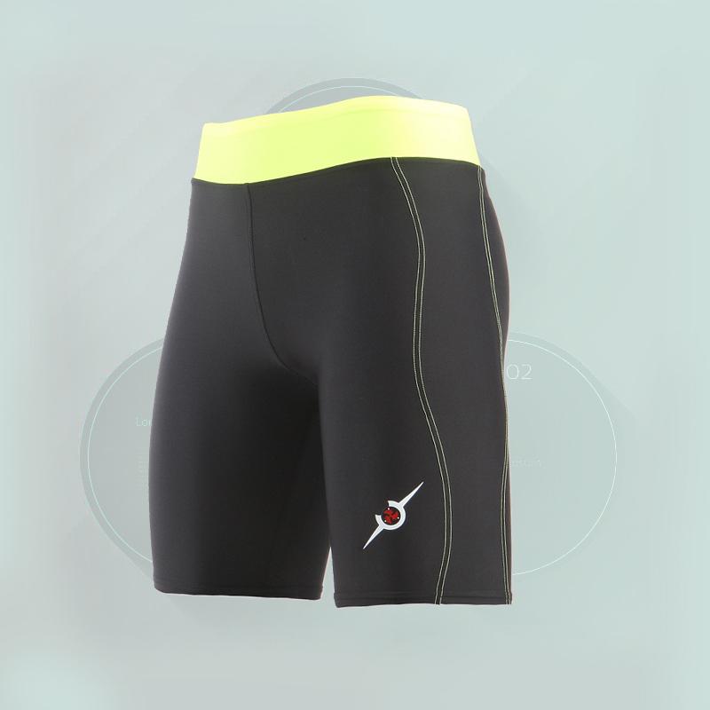 压缩裤JP.MORCH 运动紧身衣 女 弹力速干压缩跑步短裤 健身裤