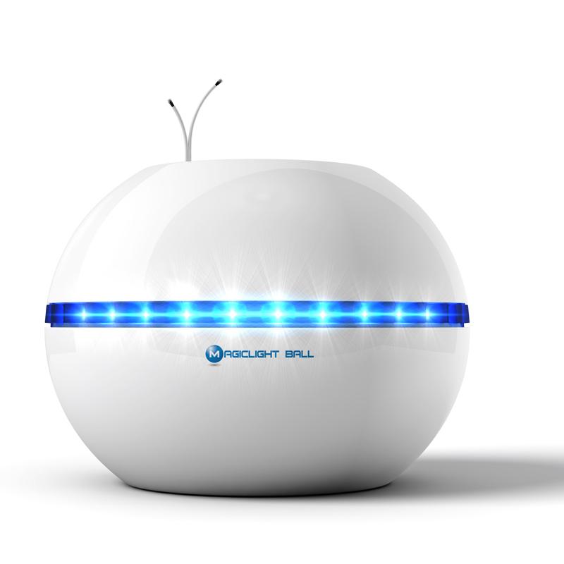 魔光球V600T无耗材空气净化器家用卧室桌面小型除甲醛烟尘负离子