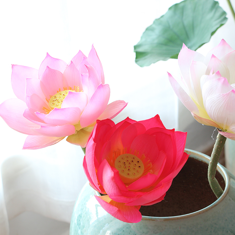 Usd 1221 Simulation Lotus Lotus Water Lily Decoration Lotus Flower