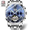 Genuine Binkada watch men's automatic mechanical watch men's watch hollow fashion trend luminous waterproof men's watch