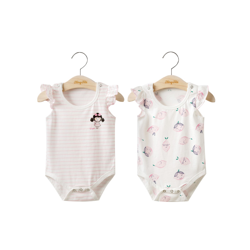 937c869cceba USD 24.38  Tong Tai newborn baby clothes summer thin section female ...