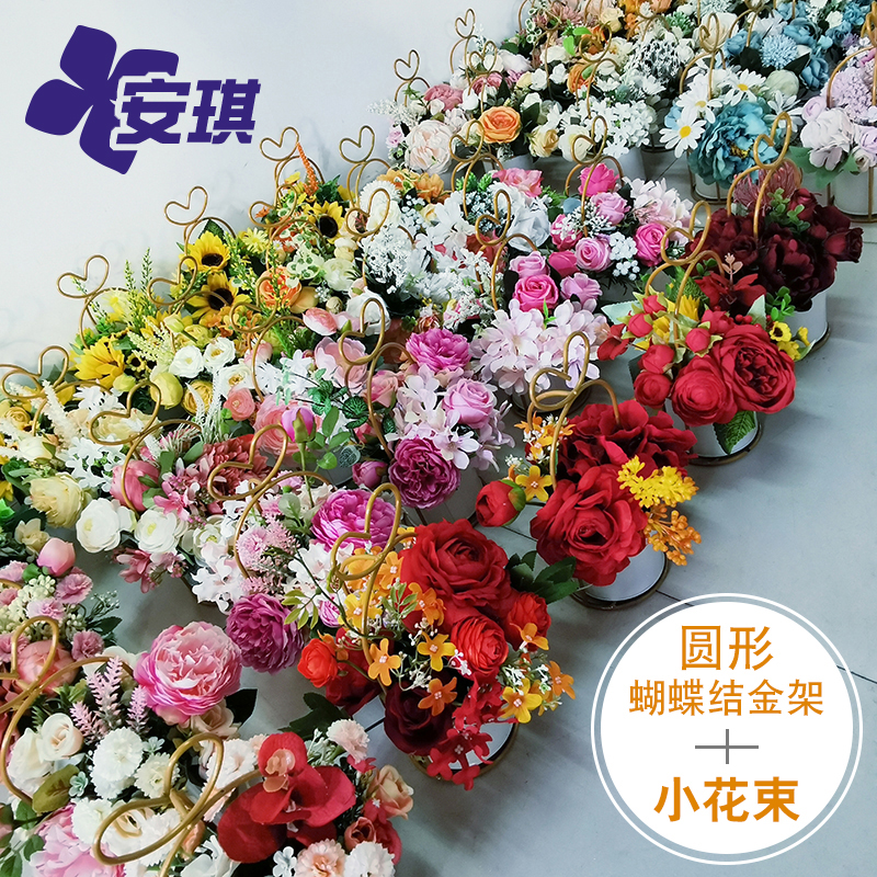 Nordic home living room simulation floral decoration decoration Wedding flowers Childrens hand flower creative simple non-flower bouquet