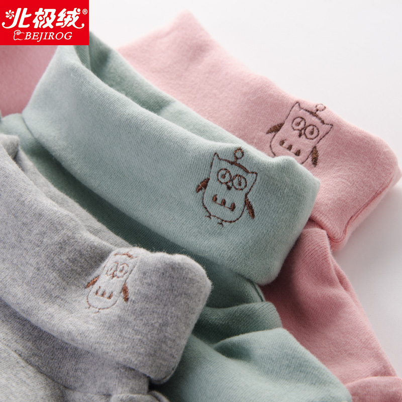2018 new autumn girls high collar T-shirt top spring and autumn children's clothing cotton long-sleeved baby high collar bottoming shirt