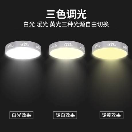 led ceiling lamp retrofit lamp board round dimming led energy-saving lamp retrofit board lamp tube lamp panel wick patch light source