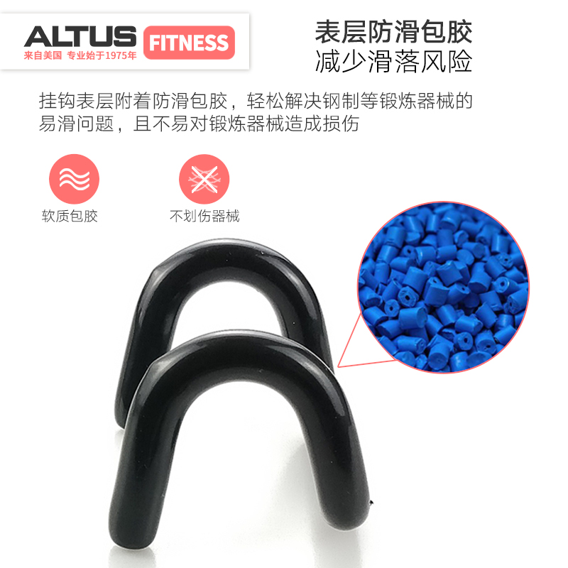 Lifting power hook pull pull-ups double hook barbell auxiliary force belt  wrist grip hook non-slip fitness gloves