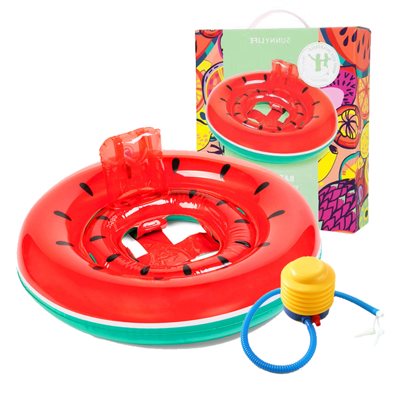 Children\'s swimming ring hot springs seat inflatable thickened with ...