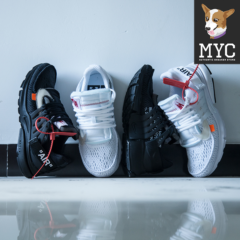 low priced 5764b 4d439 (Spot) OFF-WHITE X AIR PRESTO 2 0 OW joint black and white aa3830-100-002