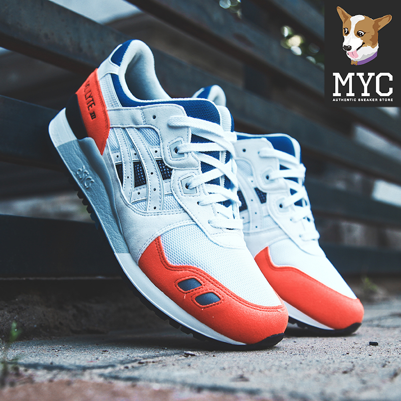 ASICS GEL LYTE III red and white sports shoes H819Y H825Y H831Y 0101