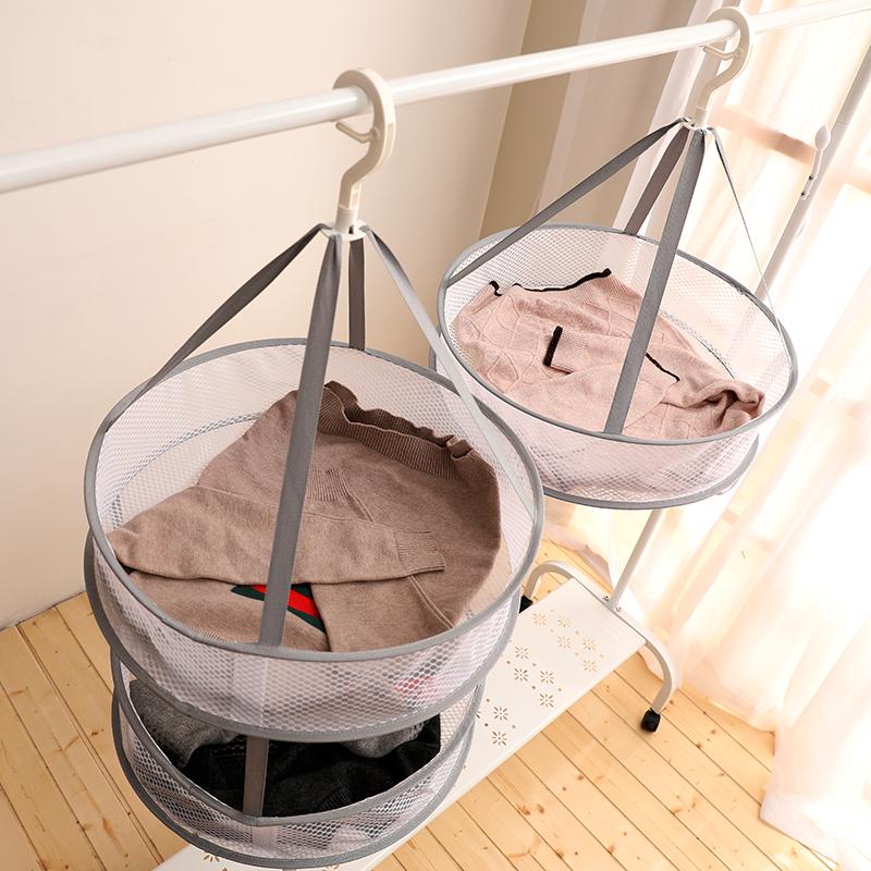 Одежда для сушки артефакт одежды чистая корзина нижнее белье синий Носок свитер для Прохладный вешалка для дома