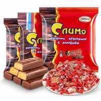 俄罗斯进口正品红皮糖新年货零食巧克力紫皮混合糖果散装过年喜糖实付18.8元到手包邮