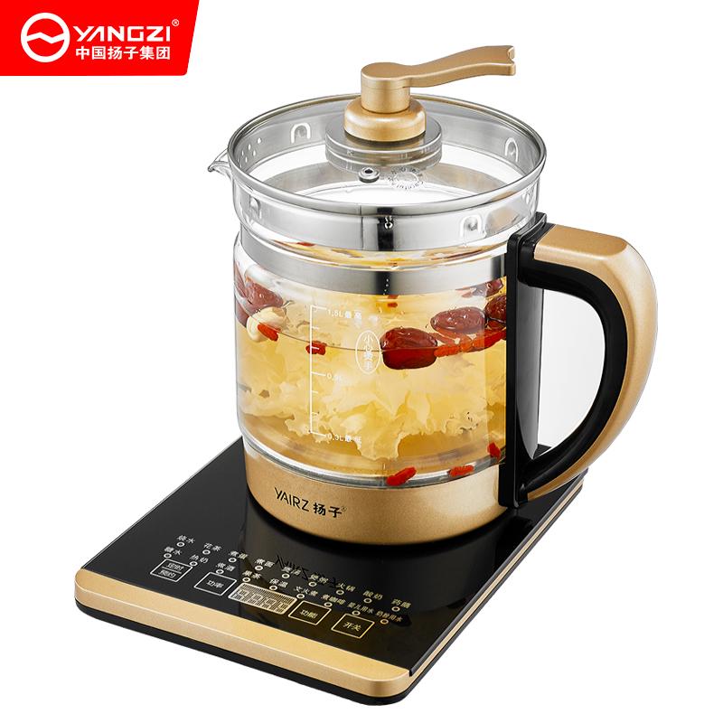 扬子养生壶全自动加厚玻璃家用多功能电热烧水壶花茶煮茶壶迷你壶