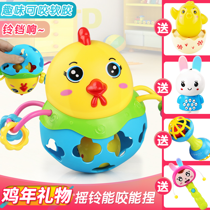 0 to 1 years old baby toys 3-6 months 12 newborn four 5 Five USD 21.54]