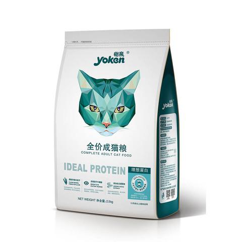 怡亲猫粮成猫粮去毛球天然粮鱼肉增肥发腮成年英短成猫通用型5斤