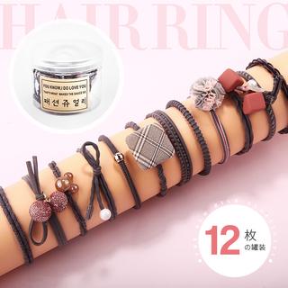 Украшения для волос,  Корейский ластик мышца послать веревку головной убор статья наконечник волосы корея чистый красная голова веревка для взрослых кобура женщина простой наконечник волосы круг, цена 115 руб