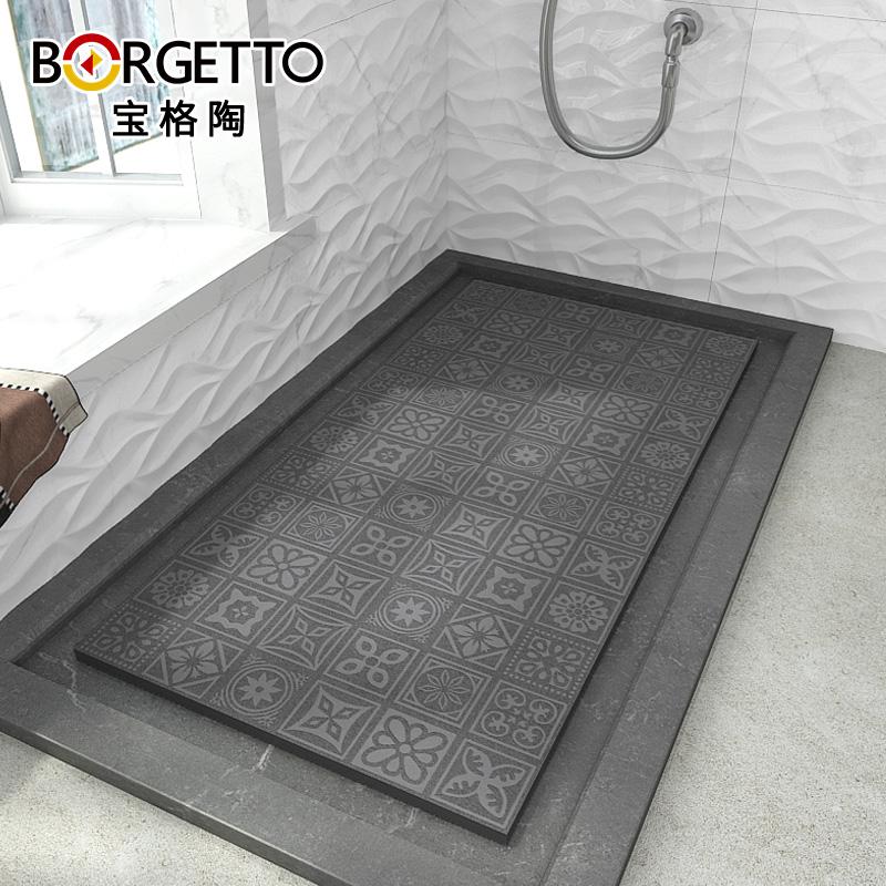 Baoge Ceramic Tile Bathroom Floor Tile Non Slip Bump Bathroom Shower