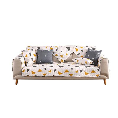 沙发垫简约现代全盖纯棉布艺四季通用防滑坐垫北欧万能沙发套罩巾,免费领取5元淘宝优惠卷