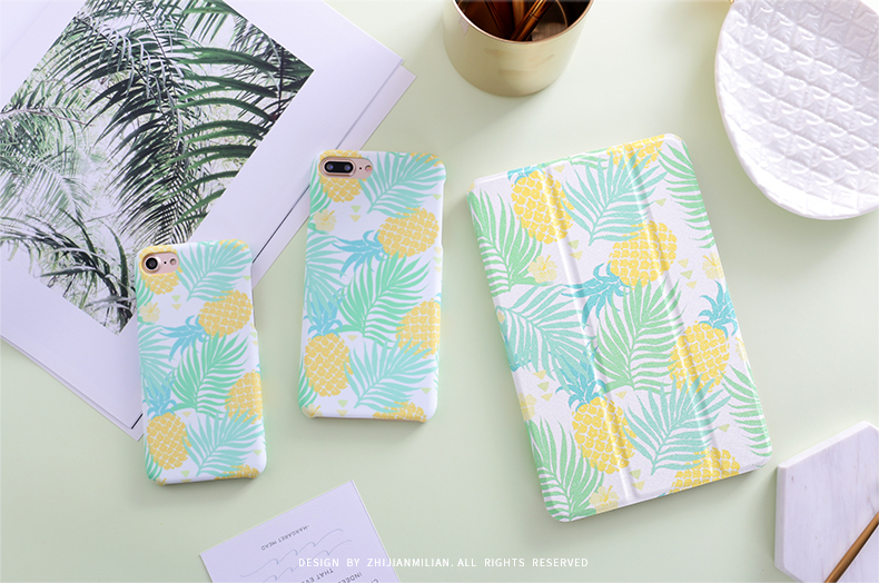 Pineapple Tree Magnet Flip Cover For Ipad Pro 9.7