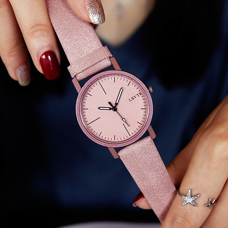 9.9 yuan net red female students Korean version of the simple trend casual atmosphere ulzzang couple watches sold out no