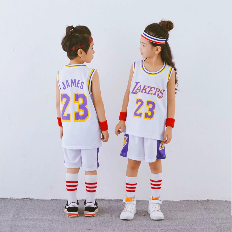 NEW LAKERS WHITE 23 JAMES