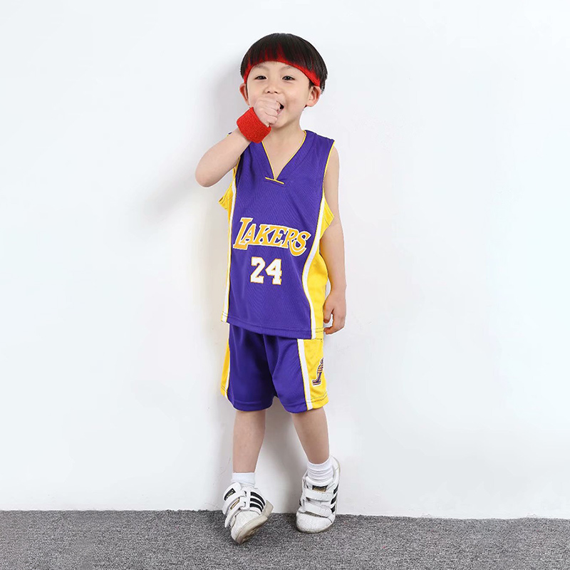 LAKERS PURPLE NO. 24 KOBE