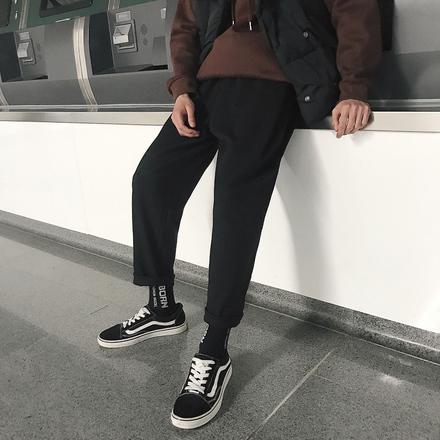 青少年男宽松休闲哈伦裤