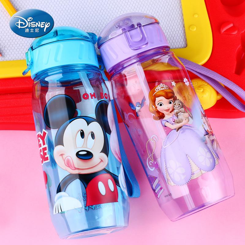 Disney ребенок чашки ребенок детские чашки стойкость к осыпанию домой питьевой чашка детский сад пейте много воды чашка герметичный бутылка