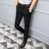 Quần nam làm việc để làm việc quần mỏng nam thanh niên mùa hè chân phù hợp với quần miễn phí hot chống nhăn quần mỏng mới Suit phù hợp