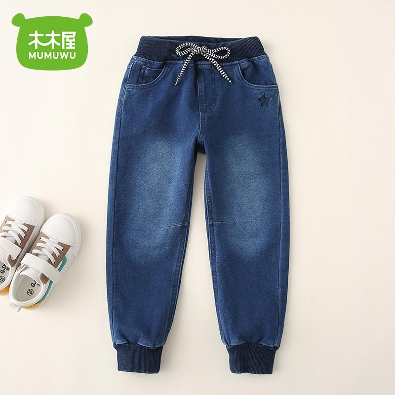 木木屋 儿童牛仔裤 天猫优惠券折后¥39.96包邮(¥59.96-20)