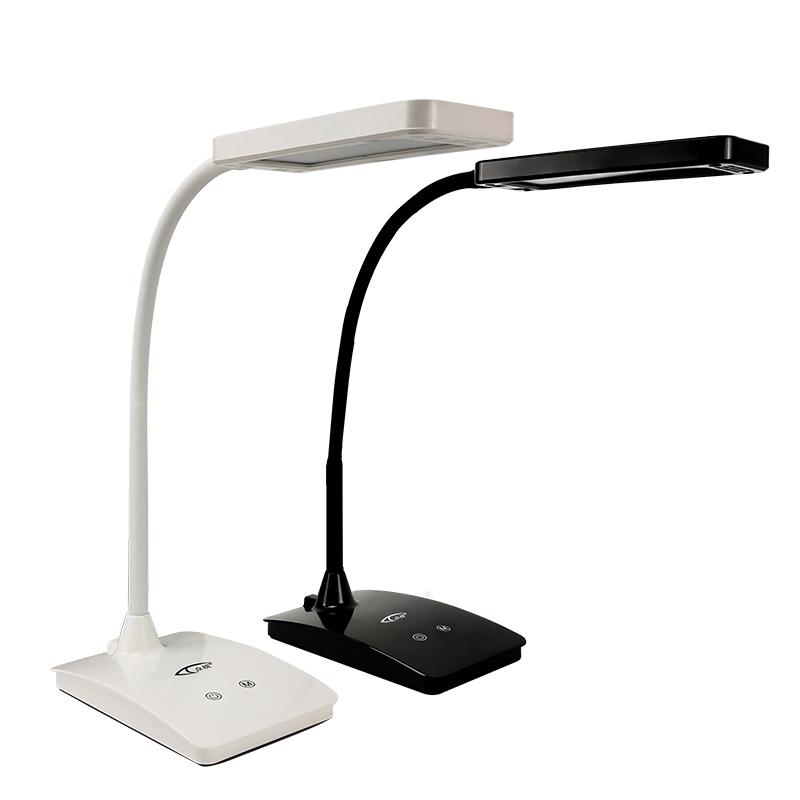 众视LED充电护眼台灯大学生宿舍书桌阅读灯儿童卧室床头灯折叠usb