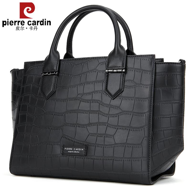 5a1c3e24ddec Pierre Cardin handbags new messenger bag shoulder bag handbag female leather  simple Wild Wings tide female bag