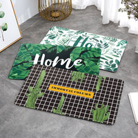 Ins entrance mats home carpet door mats bedroom kitchen bathroom toilet door mats absorbent mats