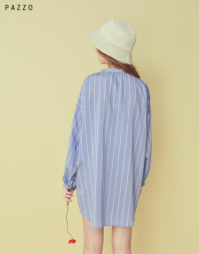 │PAZZO│ SWEET P40202167 Ba chiều thẳng sọc thường đầm túi strappy
