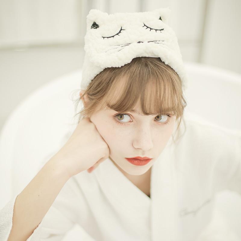 洗脸发带束发箍简约韩国可爱宽头箍月子头巾产后魔术贴洗漱网红女