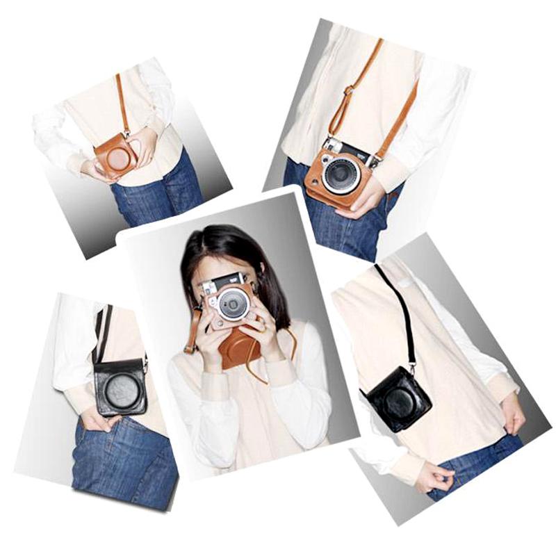Чехол для Polaroid Поляроид камеры мешок mini90 соответствовать упаковке 90 защитный рукав ретро волна пакет 90 плоская крышка выпуклая крышка мешок