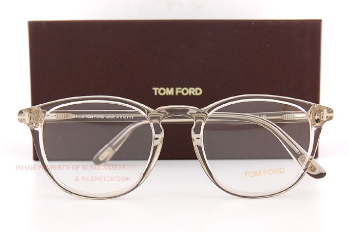 brand new tom ford eyeglass frames 5401 020 crystal size