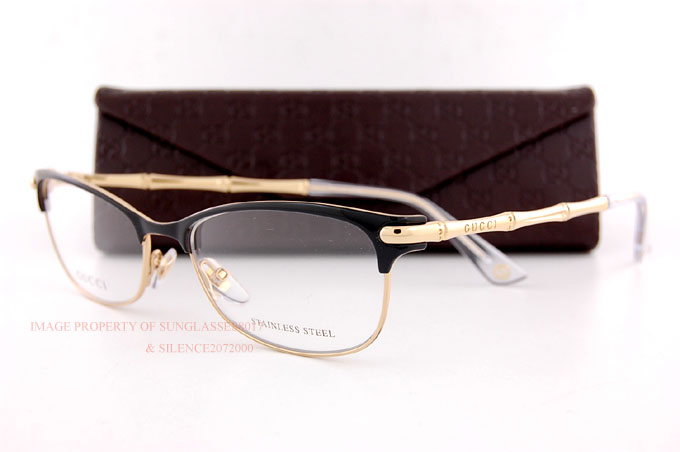 Brand New GUCCI Eyeglass Frames 4277 4Z6 Gold For Women ...