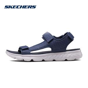 Skechers Skecher của nam giới ánh sáng velcro dép thoải mái đệm giày thể thao bãi biển 54265