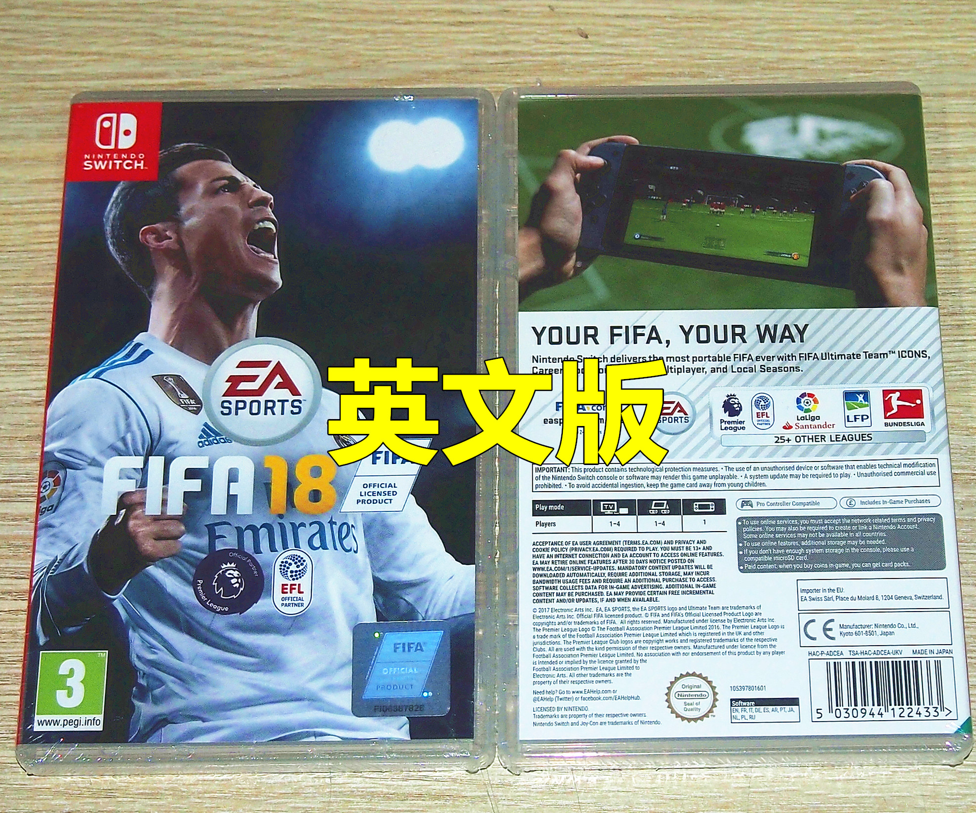 Usd 4743 Spot The Nintendo Switch Ns Game Fifa 18 World Soccer Cup 2018