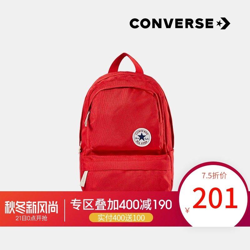 【19春背包】Converse匡威儿童2019春新款女童双肩包新品书包童装