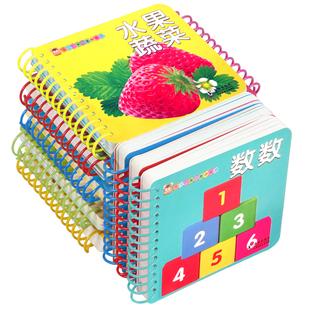 早教【识字卡片-翻翻书】全10册