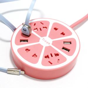 【特洛克】多功能usb插座智能插线板插板