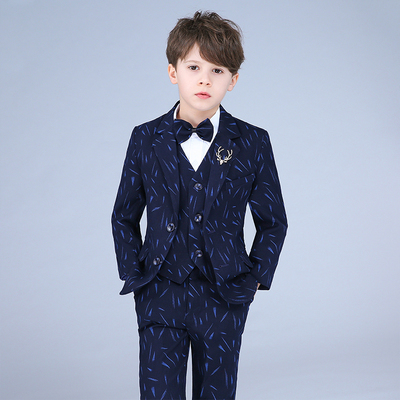 Children's small suit suit boy flower girl dress boy catwalk costume