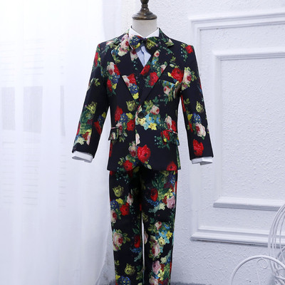 Children's small suit Boy flower girl dress Children's flower suit