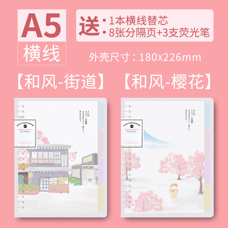 A5-street + Cherry Blossom / Send The Core